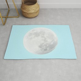 WHITE MOON + BLUE SKY Rug