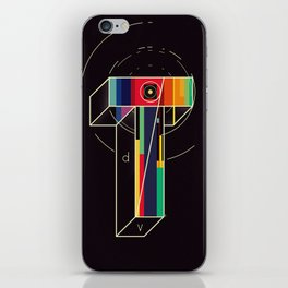 Time = Distance / Velocity iPhone Skin