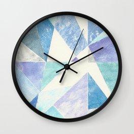 Illuminated Winter Wall Clock