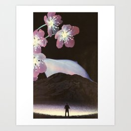 Under the Great Garden Art Print
