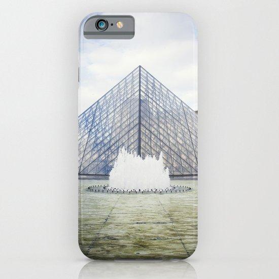 Louvre Pyramid Paris France iPhone & iPod Case