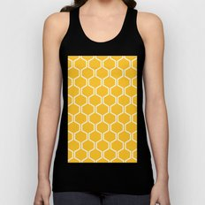 BEAUTY OF NATURE (bee , bees , yellow) Unisex Tank Top