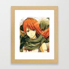 GINTAMA-movie2 kagura Framed Art Print