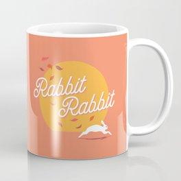 Rabbit Rabbit Sunset Coffee Mug