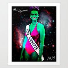 Miss Universe 2579 Art Print