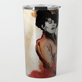 Irene Adler in Watercolor Travel Mug