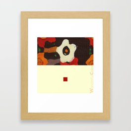 red&brown3 Framed Art Print