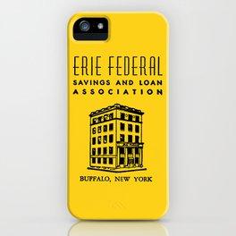 Erie Federal Savings & Loan iPhone Case