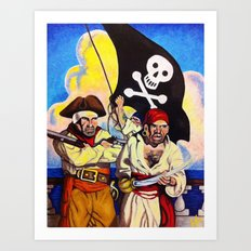 Treasure Island Art Print