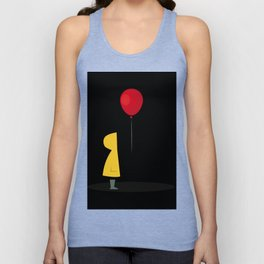 Red Balloon for 1 Penny Unisex Tank Top
