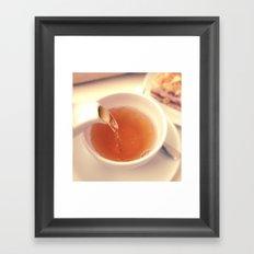 Tea for One Framed Art Print
