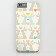 Bunnies and Hearts iPhone 6s Slim Case