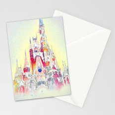Snow Castle  Stationery Cards