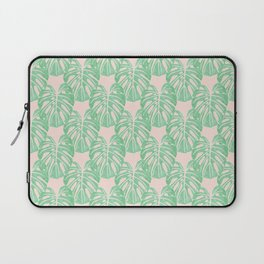 Monstera Pattern Laptop Sleeve