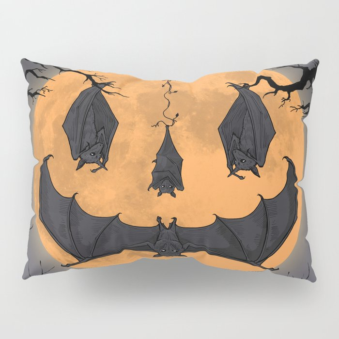 Halloween Moon Pillow Sham