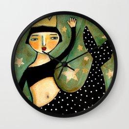 Vintage Mermaid Wall Clock