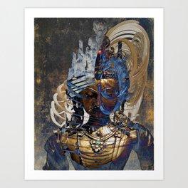 Dakini Wisdom Goddess #1 Art Print