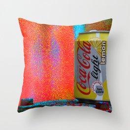Groovy Coke Throw Pillow