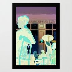 Damsel in Distress Art Print