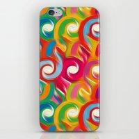 ikat iPhone & iPod Skins featuring Ikat by Helene Michau