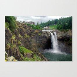 Snoqualmie Falls fine art print Canvas Print
