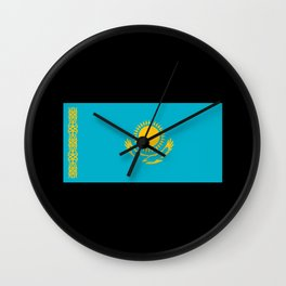 Kz Flag Wall Clock