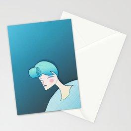 Blue days Stationery Cards