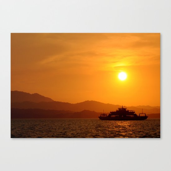 Last Ferry Canvas Print