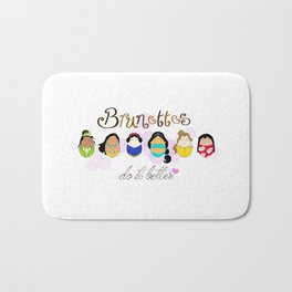 Brunettes Do It Better Bath Mat