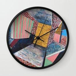 Surfaces Wall Clock
