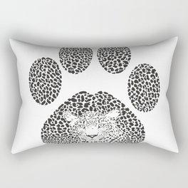 Leopard footprint Rectangular Pillow