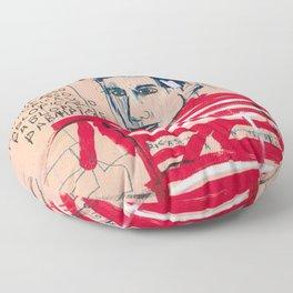 Picasso after Basquiat Floor Pillow