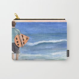 Surfer at the beach Carry-All Pouch