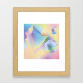 seapunk Framed Art Print