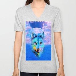 WOLF #2 Unisex V-Neck