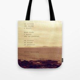 Os Livros Tote Bag