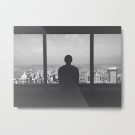 Above it all. Metal Print
