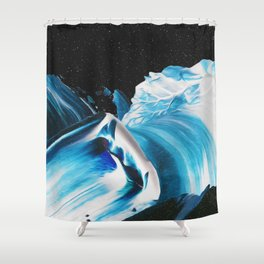 SAPPHIRES & SUFFOCATORS Shower Curtain