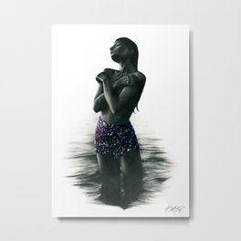 Crystal Lake. Metal Print