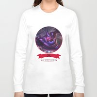 league of legends Long Sleeve T-shirts featuring League Of Legends - Zac by TheDrawingDuo