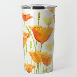 Blossom Poppies Travel Mug