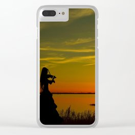Violinist Clear iPhone Case