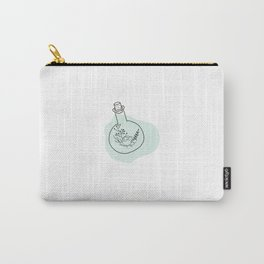 Flask Flower Carry-All Pouch
