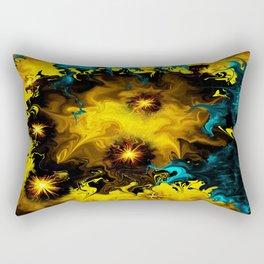 Deceiving Conflict Rectangular Pillow