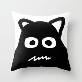 Big Monster Throw Pillow