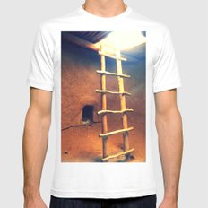 Down in the Kiva Mens Fitted Tee White MEDIUM