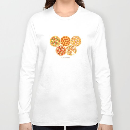 Olympizza Long Sleeve T-shirt