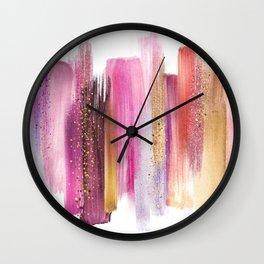 _OIL PALETTE Wall Clock