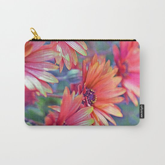 Vintage asters (2) Carry-All Pouch
