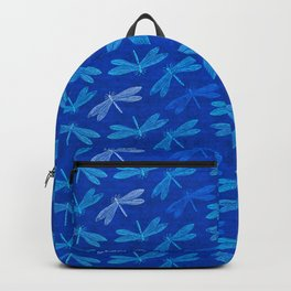 Dragonfly Summer Blues Backpack